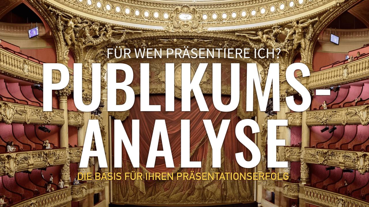 Zielgruppen-Analyse